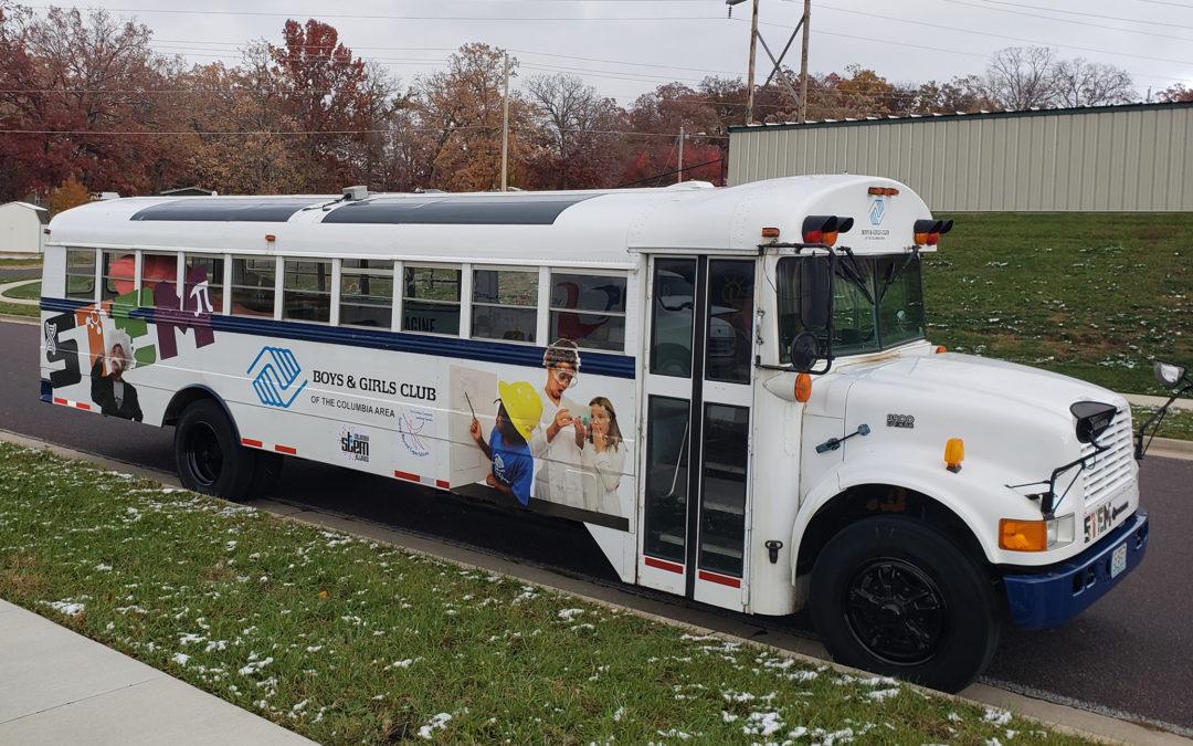 Boys & Girls Club STEAM Bus